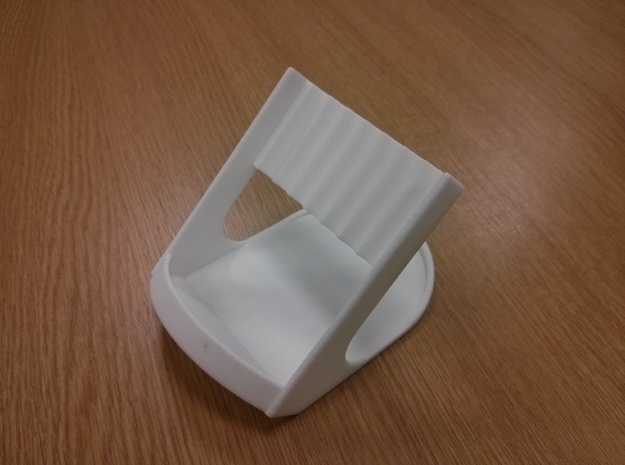 Pen Holder 3d printed Strong White and Flexible