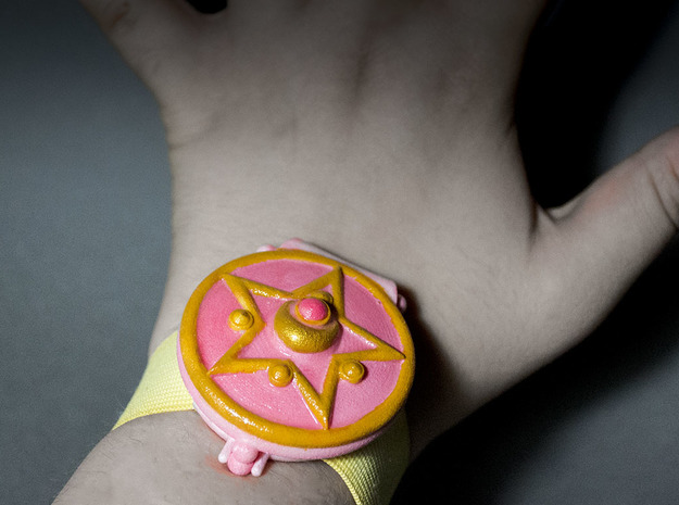 Sailor Moon Openable Wrist Communicator 3d printed