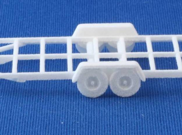 Trailer Frame HO Scale 3d printed