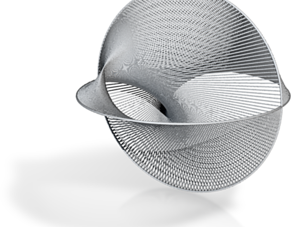 Stringy Cardioid 3d printed