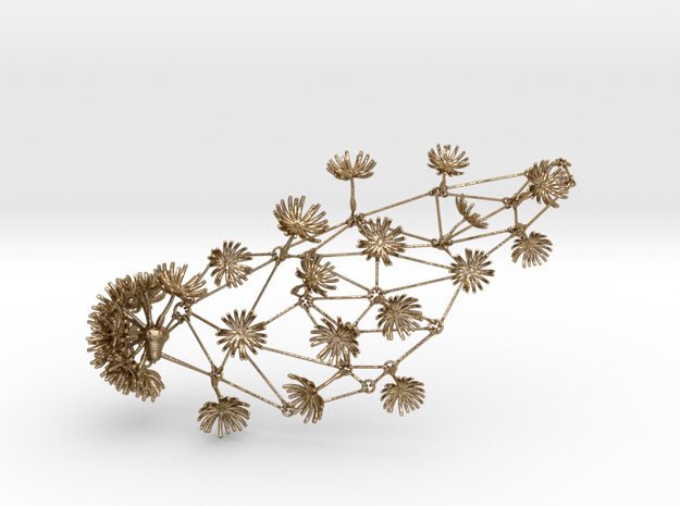 Dandelion Necklace 3d printed