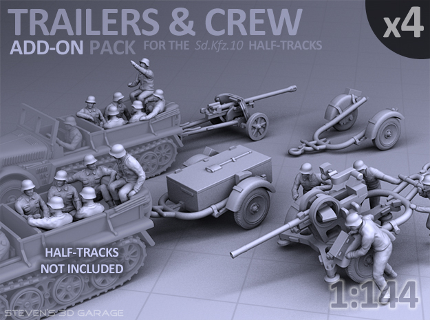 Trailers & Crew : Add-on (4 pack)