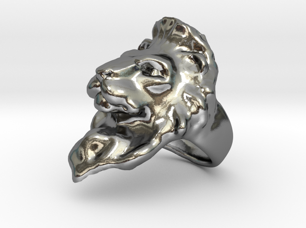 Lion Ring Size 7