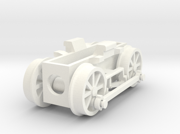 0e drive for Backer & Rueb steam loco 3d printed