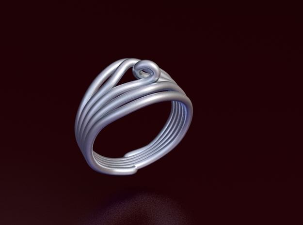 HeliX Kink Ring - 18 mm 3d printed Render