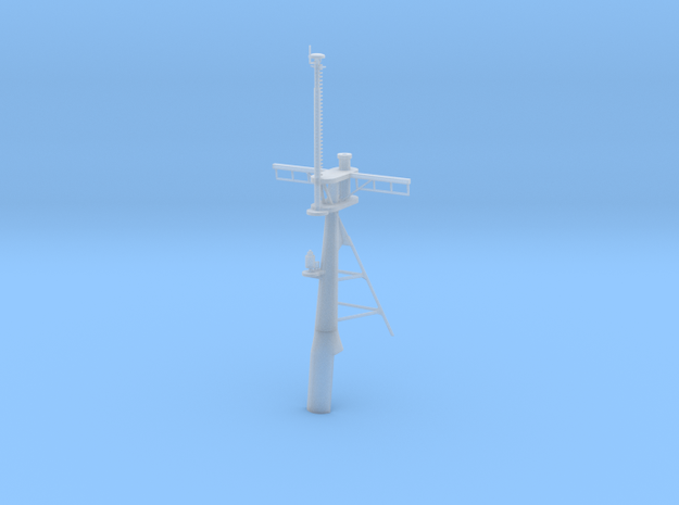 1/96 scale Hamilton Mast - Rear 3d printed