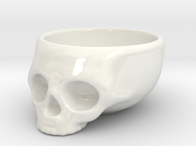 The Cranium Mug 3d printed The standard.