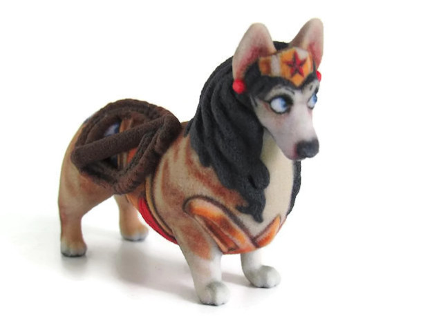 Wonder Woman Corgi