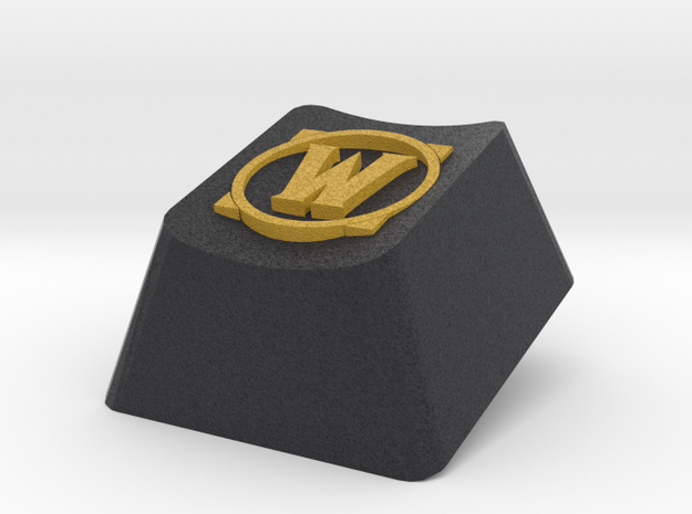 World of Warcraft logo Cherry MX keyboard keycap