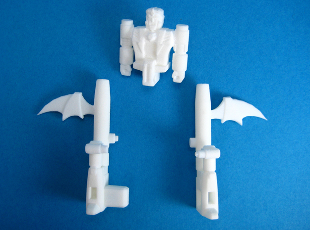 Dracula TargetMonster (5mm Transforming Weapon) 3d printed Unassembled kit