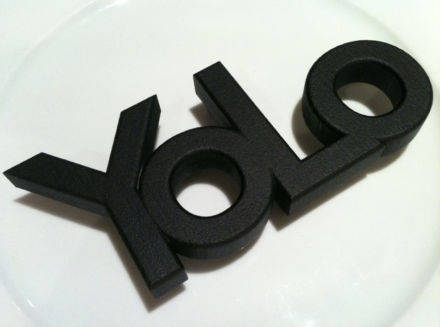 yolo belt-buckle 3d printed belt buckle