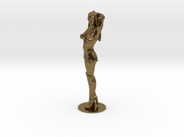 Girl, Woman, Figure - Arms up - 60mm 3d printed