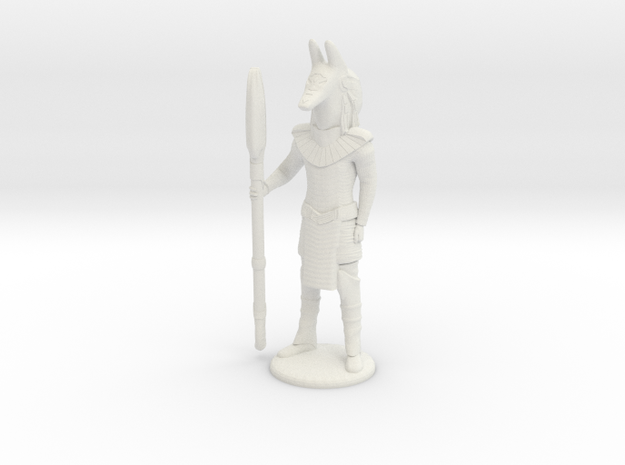 Jackal Guard At Attention - 25 mm scale