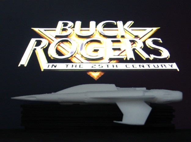 Quadfighter, 1:72, Buck Rogers