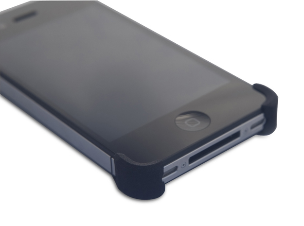 iPhone4/4S HiLO X Grip 3d printed Protection from drops on all corners