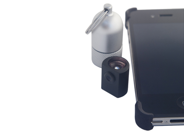 iPhone4/4S HiLO X Grip 3d printed Compatible with the HiLO Lens