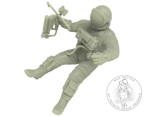 Gemini EVA Astronaut / 1:24 / Revell Kit Extension