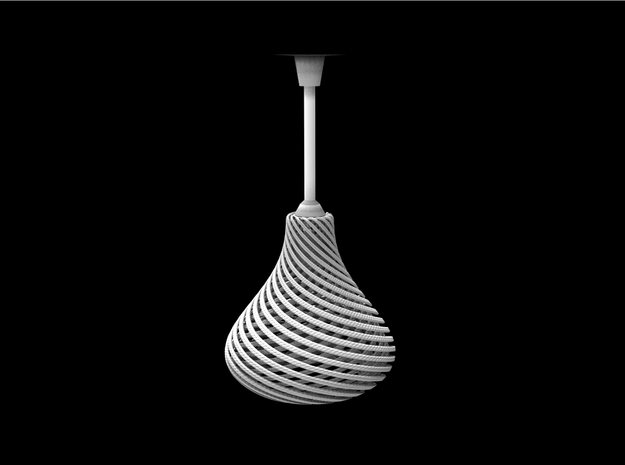 Lampshade Pear Twisted