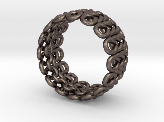 Knitter's Ring (59mm) 3d printed