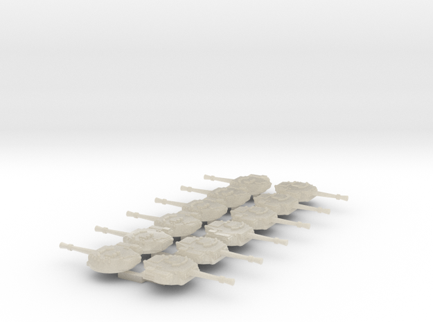 6mm Sci-Fi IFV Turret (12pcs) 3d printed