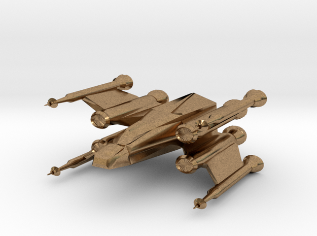 Space Fighter 3d printed