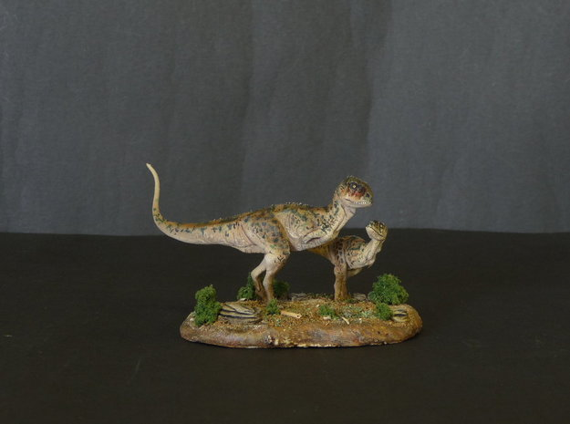 Ekrixinatosaurus 1/144th Krentz 3d printed White Strong and Flexible 1/72 and 1/144 painted by Martin Garratt
