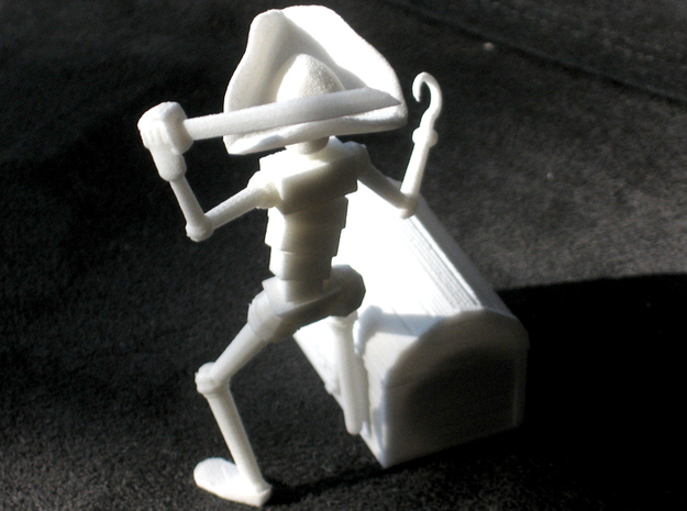 PirateRobot 3d printed