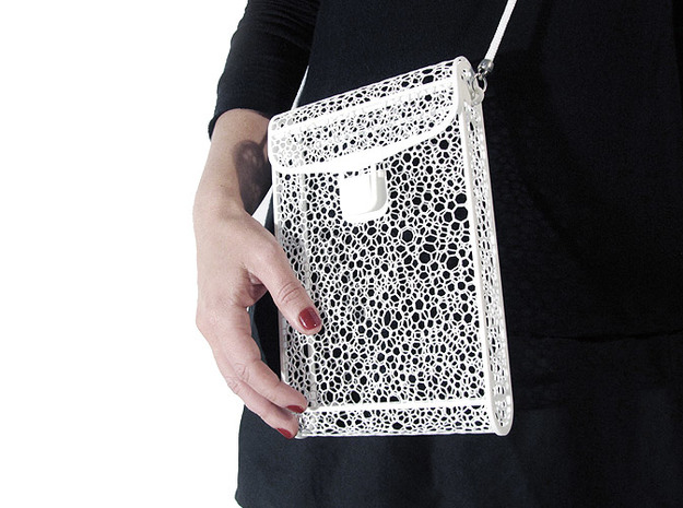 Voronoi bag #1 3d printed