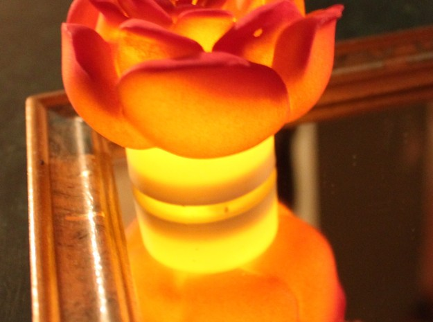 Rose Tea Light Cover / Christmas Light Cover ~2.5 3d printed