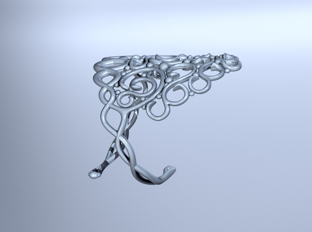 Arabesque Bracelet 3d printed
