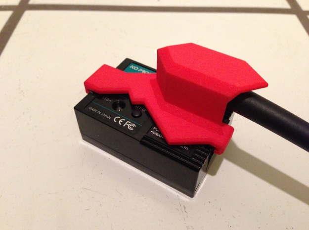 KO Propo RC Radio Antenna Shield - Ver3 3d printed