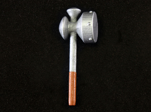 Megaton Hammer 3d printed Painted Frosted Ultra Detail