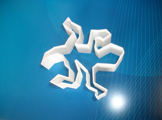 Escher's Lizard Cookie Cutter 3d printed