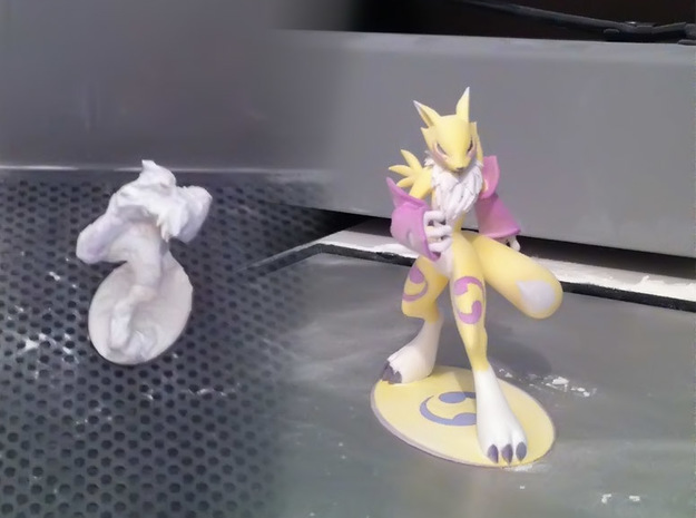 Renamon 18cm 3d printed Just printed :)
