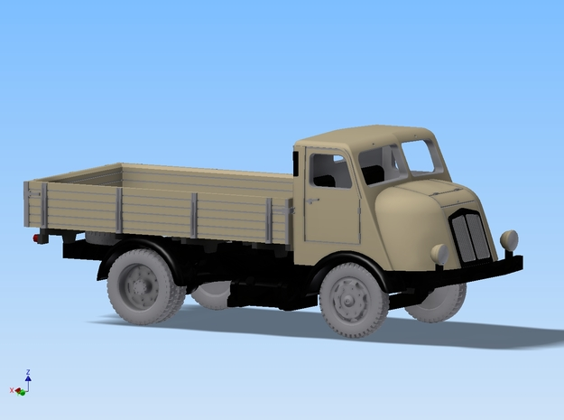 Lkw Horch H3 Pritsche Spur H0 1:87 3d printed