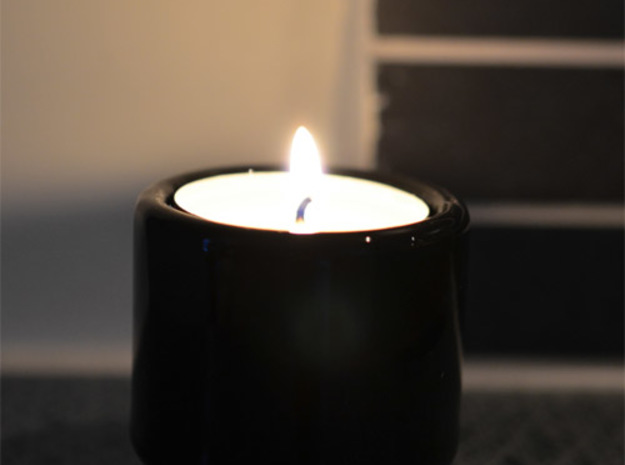 """Espresso cup and Tealight holder. """"M203 case"""" 3d printed Can also be used as a tealight holder"""