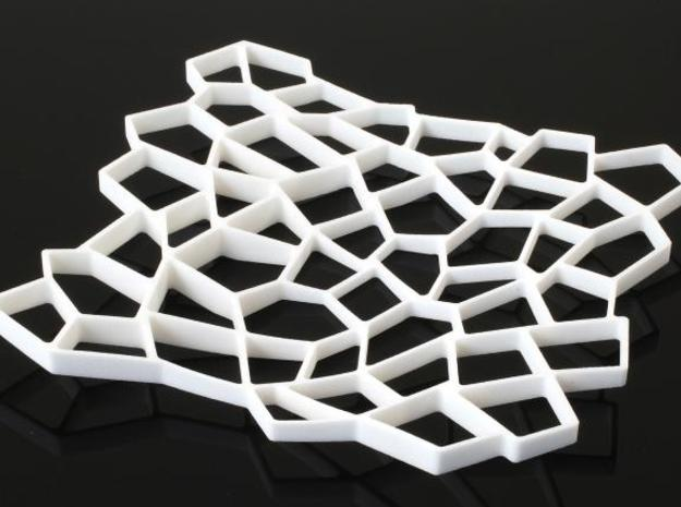 Square Platter 3d printed Description