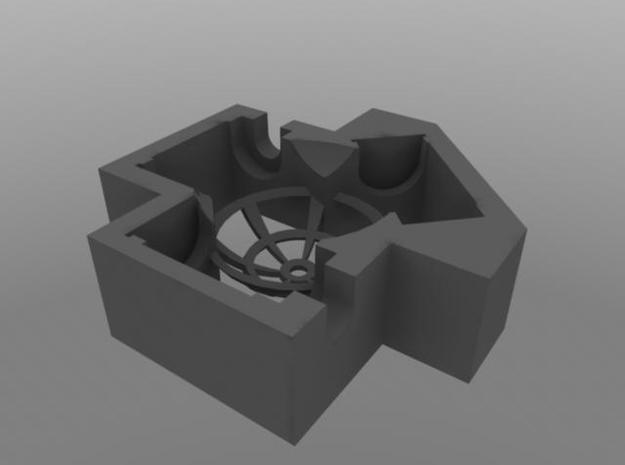 Trackball Assembly 3d printed