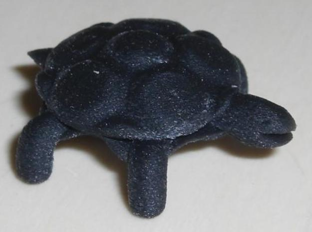 smaller turtle 3d printed This is the Turtle in black. Very detailed.
