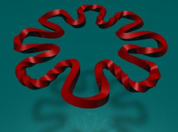 flower ring 3d printed Description