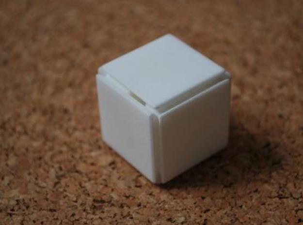 Steady State Cube 3d printed Step 0