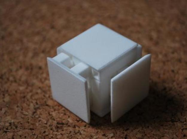 Steady State Cube 3d printed Step 2