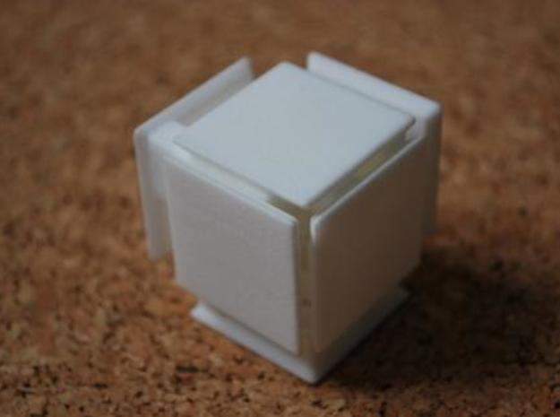 Steady State Cube 3d printed Step 3