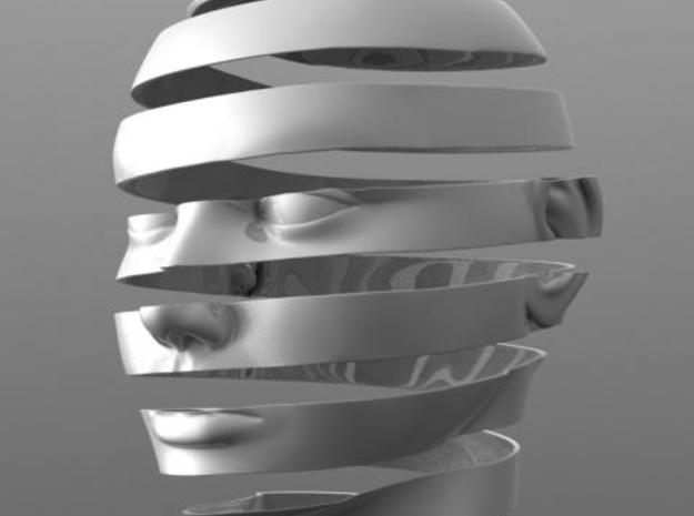 Escheresque Face peeling 3d printed facesrender