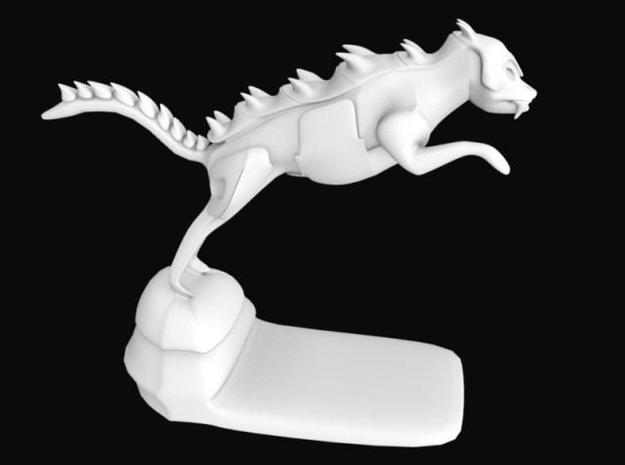 Gatordog 5 times 3d printed Description