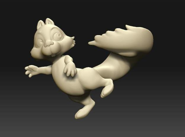 Small squirrel-new 3d printed Description