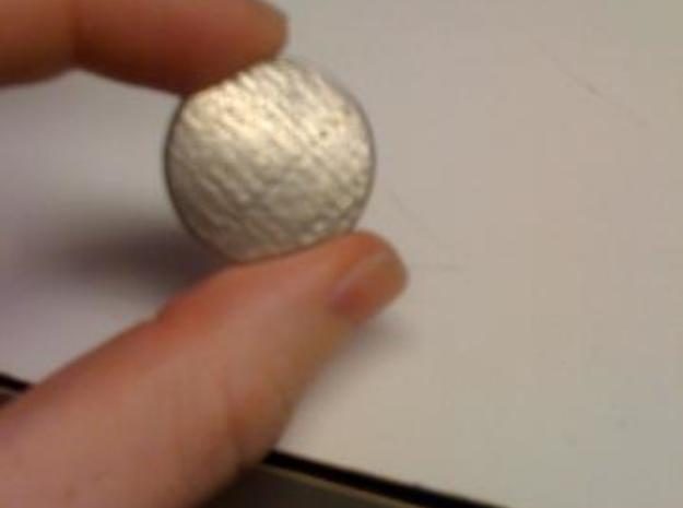 Mayan Pendent 3d printed Stainless