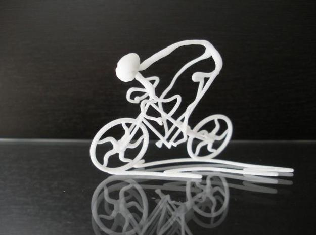Cycling Race 3d printed Description