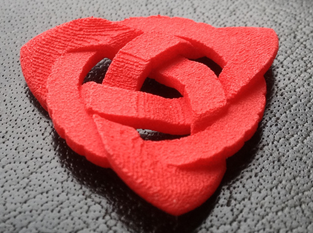 Guitar Pick Twisted Celtic Knot (Set of 5) 3d printed