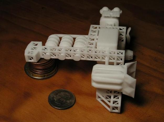 8 Space Station 3d printed p2
